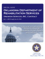 Oklahoma Department of Rehabilitation Services, Swanson Services, Inc. Contract, special audit...