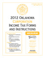Corporation Income Tax Forms and Instructions