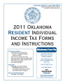 2011 Resident Individual Income Tax Forms and Instructions