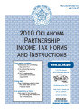 2010 Oklahoma Partnership Income Tax Forms and Instructions