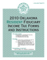 2010 Oklahoma Resident Fiduciary Income Tax Forms and Instructions