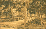 Lover's Bridge, Hyde Park.  MUSKOGEE, Okla.