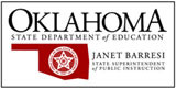 Oklahoma School Testing Program Oklahoma Core Curriculum Tests ACE Algebra I test blueprint,...
