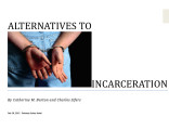 alternatives to incarceration 1