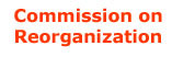 Reorganization : report of the volunteer executives to the Special Commission on the...