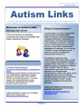 January 2013 Autism LINKS 1