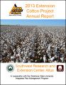 2013 Extension Cotton Project...